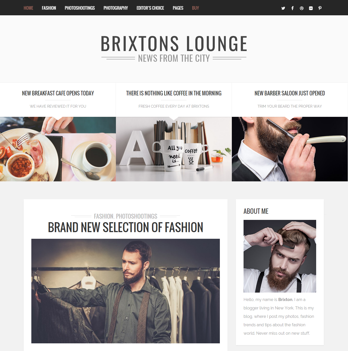 Best fashion wordpress theme 84